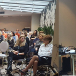 Wizazystka Marta Frankowska-Luty podczas wystąpienia na konferencji