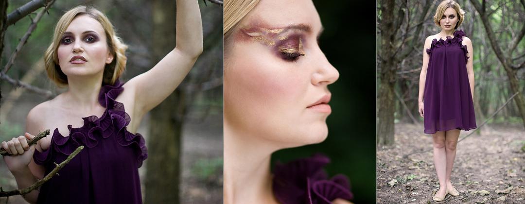 Makijaż artystyczny, wykonany przez professional make up artist Kraków